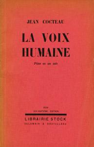 Front Cover : La voix humaine
