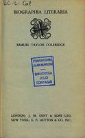 Ver ficha de la obra: Biographia literaria