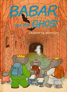 Cubierta de la obra : Babar and the ghost