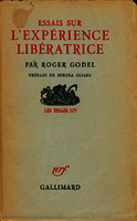 See work details: Essais sur l'experience liberatrice