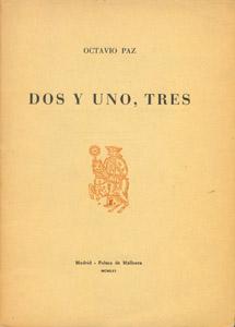 Front Cover : Dos y uno, tres
