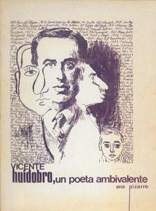 Cubierta de la obra : Vicente Huidobro, un poeta ambivalente