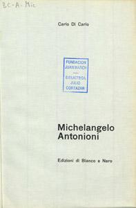 Cubierta de la obra : Michelangelo Antonioni