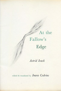 Front Cover : At the fallow's edge