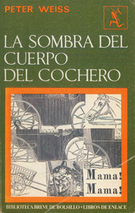 Front Cover : La sombra del cuerpo del cochero