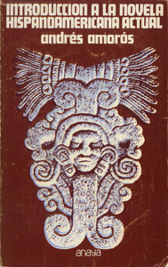 Cubierta de la obra : Introducción a la novela hispanoamericana actual