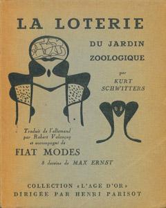 Front Cover : La loterie du jardin zoologique