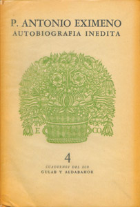 Cubierta de la obra : Autobiografía inédita