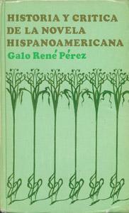Front Cover : Historia crítica de la novela hispanoamericana
