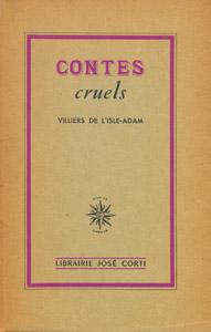 Cubierta de la obra : Contes cruels