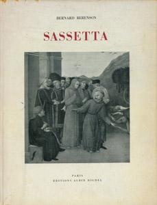 Cubierta de la obra : Sassetta