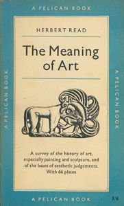 Cubierta de la obra : The meaning of art