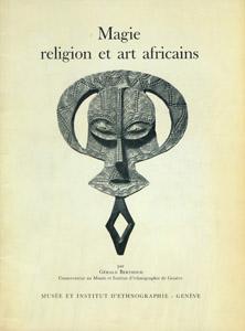 Cubierta de la obra : Magie, religion et art africains