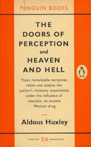 Cubierta de la obra : The doors of perception and heaven and hell