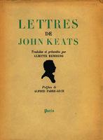 Ver ficha de la obra: Lettres de John Keats