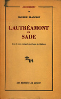 See work details: Lautréamont et Sade