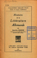 Ver ficha de la obra: Histoire de la littérature allemande