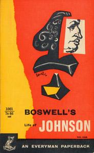 Cubierta de la obra : Boswell's life of Johnson in two volumes