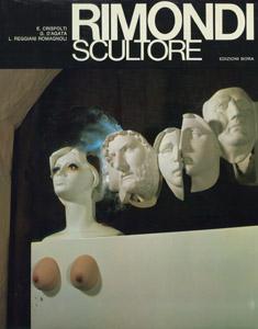 Cubierta de la obra : Rimondi scultore