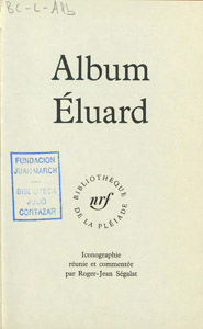 Front Cover : Album Eluard