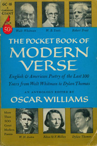 Front Cover : The Pocket book of modern verse