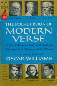 Cubierta de la obra : The Pocket book of modern verse
