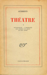 Cubierta de la obra : Theatre