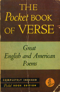 Front Cover : The Pocket book of verse