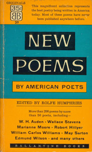 Front Cover : New poems