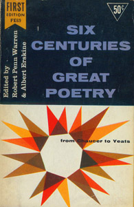 Front Cover : Six centuries of great poetry