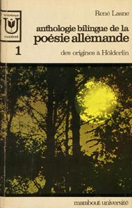 Cubierta de la obra : Anthologie bilingue de la poésie allemande