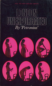 Front Cover : London unexpurgated