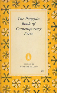 Front Cover : The Penguin Book of Contemporary Verse