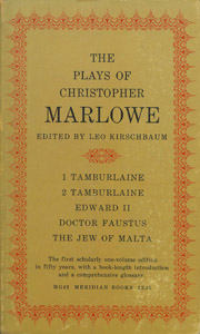 Cubierta de la obra : The plays of Christopher Marlowe