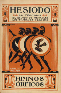 Front Cover : Bión : idilios ; Mosco : idilios ; Himnos órficos ; La teogonía ; El escudo de Heracles ; Los trabajos y los días