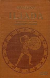 Cubierta de la obra : Ilíada