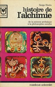 Cubierta de la obra : Histoire de l'alchimie