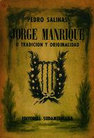 Ver ficha de la obra: Jorge Manrique o Tradición y originalidad