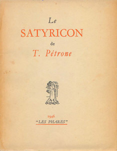 Front Cover : Le Satyricon