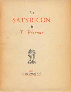 Cubierta de la obra : Le Satyricon