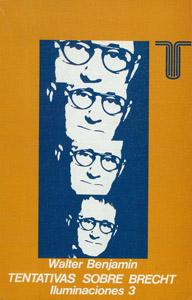 Cubierta de la obra : Tentativas sobre Brecht