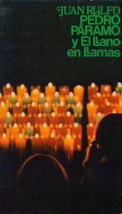 Cubierta de la obra : Pedro Páramo y El llano en llamas