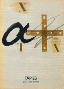 Front Cover : Tàpies