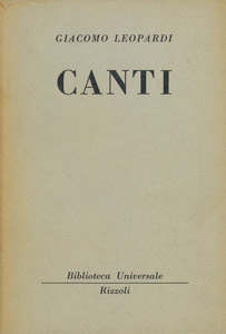Front Cover : Canti