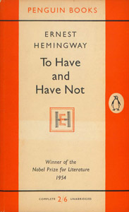 Front Cover : To have and have not