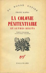 Front Cover : La colonie pénitentiaire et autres récits