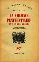 Ver ficha de la obra: colonie pénitentiaire et autres récits
