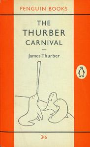 Cubierta de la obra : The Thurber carnival