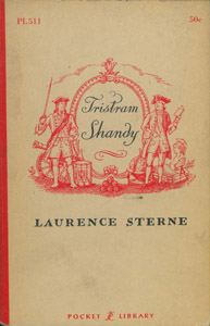 Front Cover : The life and opinions of Tristam Shandy, Gentleman