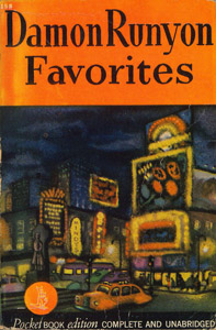 Front Cover : Damon Runyon favorites